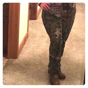 🌳🦌Mossy Oak Realtree fitted camouflage pants